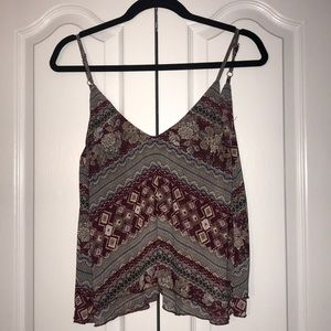 Tobi Open Back Tank Top